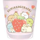 角落生物 透明塑胶杯 (粉红色)