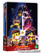 Lego Movie 2-Movie Collection Double Pack: The Lego Movie & The Lego Movie 2 (DVD) (2-Disc) (Limited Edition) (Korea Version)