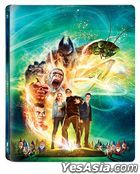 Goosebumps (Blu-ray) (2D + 3D Versions) (Steelbook Limited Edition) (Korea Version)