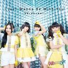 TV Anime Puripara ED I just Wanna Be With You -Virtual to Real no Hazama de (SINGLE+DVD)(Japan Version)