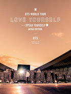 BTS WORLD TOUR 'LOVE YOURSELF: SPEAK YOURSELF' - JAPAN EDITION  (First Press Limited Edition) (Japan Version)
