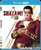 Shazam! (2019) (Blu-ray) (2D + 3D) (Hong Kong Version)
