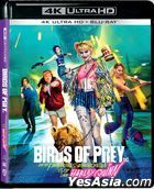 Birds of Prey: And The Fantabulous Emancipation of One Harley Quinn (2020) (4K Ultra HD + Blu-ray) (Hong Kong Version)