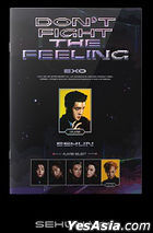 EXO Special Album - DON'T FIGHT THE FEELING (Expansion Version) (Se Hun Version) + Random Poster in Tube (Expansion Version)