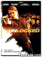 Unlocked (2017) (DVD) (US Version)