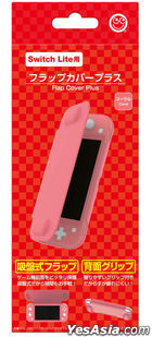 Nintendo Switch Lite Flap Cover Plus (Coral) (Japan Version)