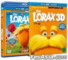 The Lorax (Blu-ray) (3D + 2D Combo) (First Press Limited Edition) (Korea Version)