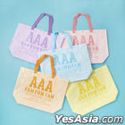 AAA FAN MEETING ARENA TOUR 2019 -FAN FUN FAN- Takeout Bag (with Clear Pocket) -BLUE-