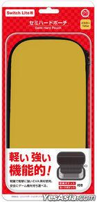 Nintendo Switch Lite Semi Hard Pouch (Yellow) (日本版)