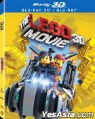 The Lego Movie (2014) (Blu-ray) (2D + 3D)  (Hong Kong Version)
