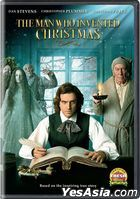 The Man Who Invented Christmas (2017) (DVD) (US Version)