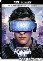 Ready Player One (2018) (4K Ultra HD + Blu-ray + Digital) (Hong Kong Version)