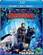 How to Train Your Dragon: The Hidden World (2019) (Blu-ray + DVD + Digital) (US Version)