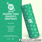 Golden Child 2018 Season's Greetings (Random Member Autographed) (Limited Edition)