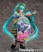 Character Vocal Series 01 Hatsune Miku Chokabuki Kuruwa Kotoba Awase Kagami Ver. 1:7 Pre-painted PVC Figure