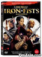 The Man With The Iron Fists (DVD) (Korea Version)