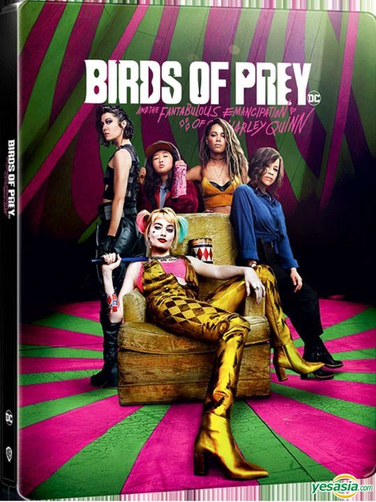 Yesasia Birds Of Prey And The Fantabulous Emancipation Of One Harley Quinn 2020 4k Ultra Hd Blu Ray Steelbook Hong Kong Version Limited Poster Blu Ray Ewan Mcgregor Margot Robbie Manta