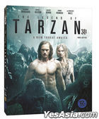 The Legend of Tarzan (2D + 3D Blu-ray) (2-Disc) (O-ring Case Limited Edition) (Korea Version)