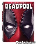 Deadpool (2016) (Blu-ray + DVD + Digital HD) (US Version)