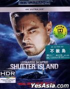 Shutter Island (2010) (4K Ultra HD Blu-ray) (Hong Kong Version)