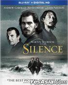 Silence (2016) (Blu-ray + Digital HD) (US Version)
