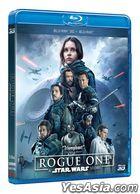 Rogue One: A Star Wars Story (2016) (Blu-ray) (2D + 3D) (Hong Kong Version)