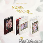 Twice Mini Album Vol. 9 - MORE & MORE (A + B + C Version) + 3 First Press Photo Card Sets + 3 Posters in Tube