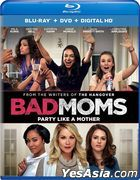 Bad Moms (2016) (Blu-ray + DVD + Digital HD) (US Version)