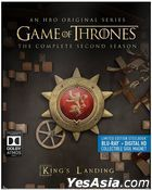 Game Of Thrones (Blu-ray + Digital HD) (Ep. 1-10) (The Complete Second Season) (Steelbook) (US Version)