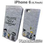 Peanuts : iPhone 6 Sweat Flip Case Friends (SNG-98C)