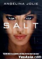 Salt (2010) (DVD) (Regular Single Disc Edition) (Hong Kong Version)