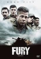 Fury (2014) (DVD) (Japan Version)