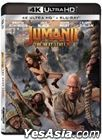 Jumanji: The Next Level (2019) (4K Ultra HD + Blu-ray) (Hong Kong Version)