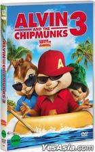 Alvin and the Chipmunks 3 (DVD) (Korea Version)