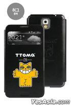 Samsung Galaxy Note 3 TTOMA View Flip Case (Hug Black)