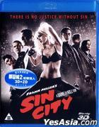 Sin City: A Dame to Kill For (2014) (Blu-ray) (2D + 3D) (Hong Kong Version)