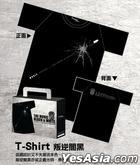 Black & White Episode I: The Dawn of Assault - Black T-Shirt Male (M)