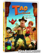 Tad the Lost Explorer and the Secret of King Midas (DVD) (Korea Version)