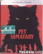 Pet Sematary (2019) (4K Ultra HD + Blu-ray) (Steelbook) (Hong Kong Version)