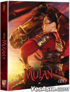 Mulan (2020) (Blu-ray) (Steelbook Limited Edition) (Korea Version)