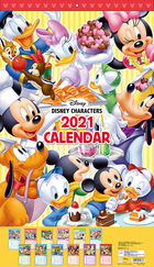 Disney 2021 Calendar (Japan Version)