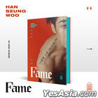 Victon : Han Seung Woo Mini Album Vol. 1 - Fame (WOO Version) + Random Poster in Tube