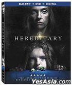 Hereditary (2018) (Blu-ray + DVD + Digital) (US Version)