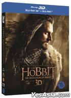 The Hobbit: The Desolation of Smaug (2013) (Blu-ray) (4-Disc) (3D + 2D) (Limited Edition) (Korea Version)