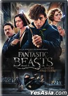 Fantastic Beasts and Where to Find Them (2016) (DVD) (US Version)