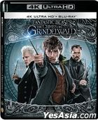 Fantastic Beasts: The Crimes of Grindelwald (2018) (4K Ultra HD + Blu-ray) (Extended Edition) (Hong Kong Version)