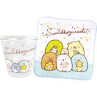 Sumikko Gurashi Glass with Towel Set