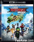 The LEGO Ninjago Movie (2017) (4K Ultra HD + Blu-ray) (Hong Kong Version)