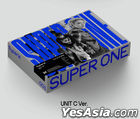 SuperM Vol. 1 - Super One (UNIT C Version) + Random Poster in Tube