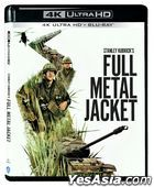 Full Metal Jacket (1987) (4K Ultra HD + Blu-ray) (Hong Kong Version)